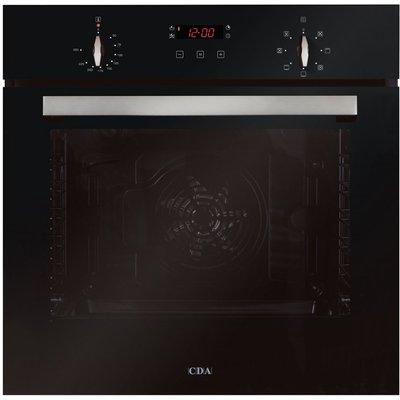 5055833402304 | CDA SK310BL 60cm Multifunctional Elecric Oven in Black with Free 5Yr Parts 2Y Labour Guarante via Registration