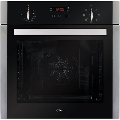 CDA SK310SS 60cm Multifunctional Electric Oven in Stainless Steel with Free 5Yr Parts 2Yr Labour Guarantee via Registration - 5055833402236