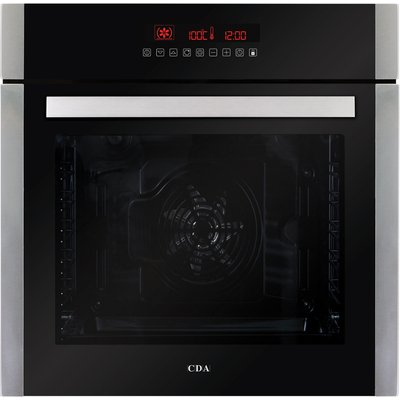 5055833402243 | CDA SK410SS 60cm Multifunctional Electric Oven in Stainless Steel with Free 5Yr Parts 2Yr Labour Guarantee via Registration