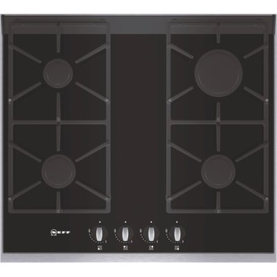 Neff T66S66N0 Gas Hob  Black Glass 4242004113447
