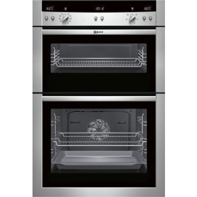Neff Series 3 U15E52N3GB Double oven Stainless steel - 4242004157823