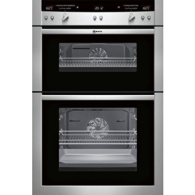Neff Series 5 U16E74N3GB Double oven Stainless steel - 4242004157045