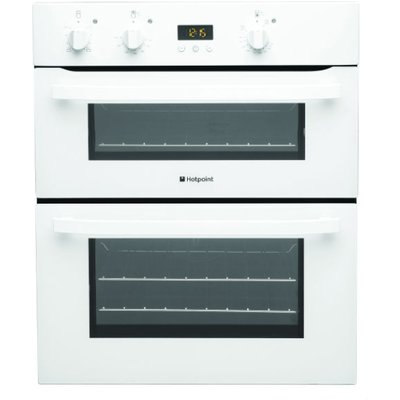 Hotpoint UH53WS 60cm Wide Electric Double Oven in White - 5016108805374