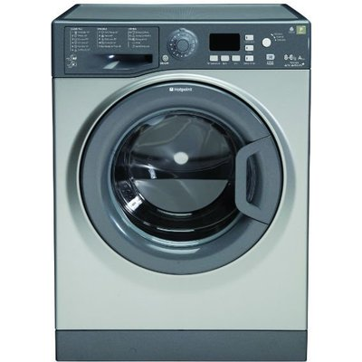 Hotpoint WDPG8640G Aquarius Plus 8Kg Washer Dryer in Graphite with 6Kg Drying Capacity - 5016108785829