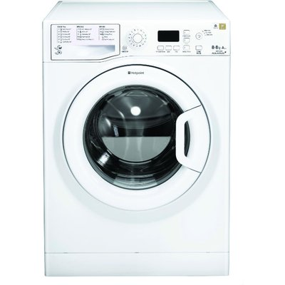 Hotpoint WDPG8640P  Aquarius Plus  8Kg Washer Dryer in Polar White with 6Kg Drying Capacity - 5016108785812