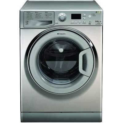 Hotpoint WDPG8640X Aquarius Plus Washer Dryer in Stainless Steel - 5016108785843
