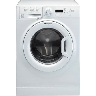 Hotpoint Experience Eco WMBF844P 8 Kg 1400 RPM Washing Machine in White - 5016108898215
