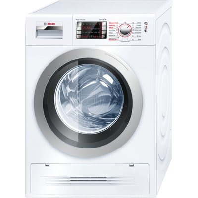 Bosch WVH28422GB Washer Dryer  7kg Wash 4kg Dry Load  A Energy Rating  1400rpm Spin  White - 4242002748375