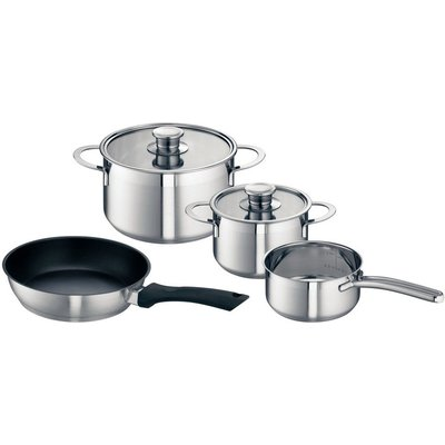 Neff Z9442X0 Set of 3 Pots and 1 Pan for Induction Hobs 4242004169864