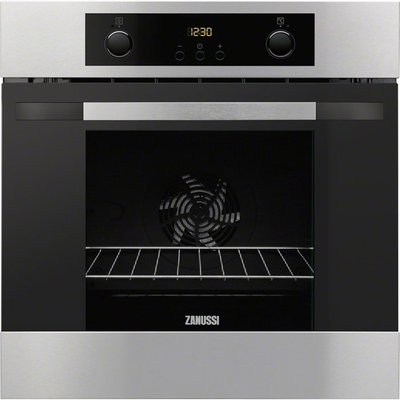 Zanussi ZOA35802XD Mulitfunctional single oven in stainless steel 7332543163984
