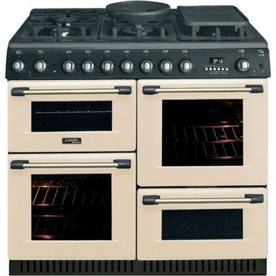 Hotpoint Cannon CH10755GFS 100cm Gas Range Cooker in Cream with FSD - 5016108809181