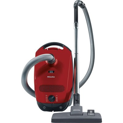 Miele Classic C1 Powerline Bagged Cylinder Vacuum Cleaner Autumn Red 10155090 - 4002515461129