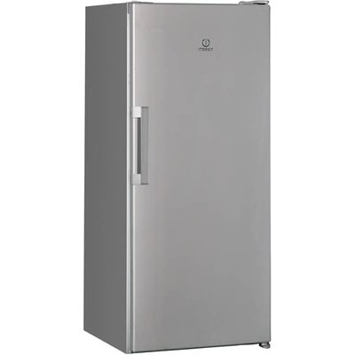 Indesit SI41S Compact 185L Fridge in Silver - 8050147043752