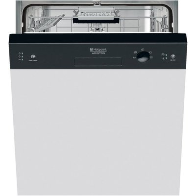Hotpoint LSB5B019B Semi Integrated Dishwasher with 13 place settings - 5016108829097