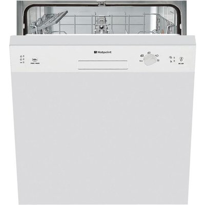 Hotpoint LSB5B019W Semi Integrated Dishwasher 13 Place Settings - 5016108829073