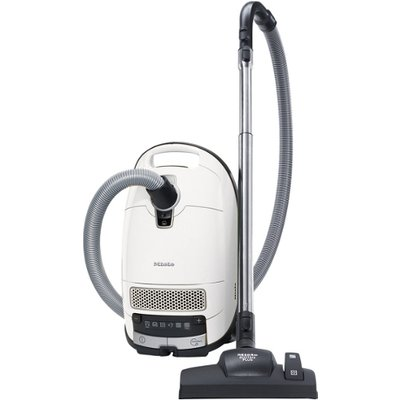 Miele Complete C3 Silence Ecoline SGSK3 Bagged Cylinder Vacuum Cleaner in White 10660960 - 4002515827109