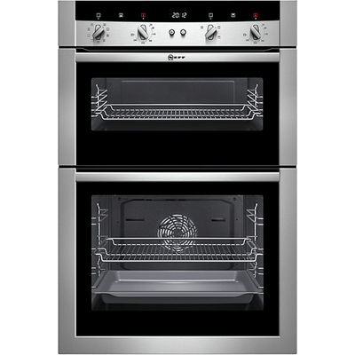 Neff U15M52N3GB Double Electric Oven in Stainless Steel - 4242004157014