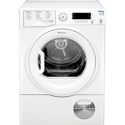 Hotpoint SUTCDGREEN9A1 Ultima Heat Pump Tumble Dryer  9kg Load  A  Energy Rating  White - 5016108868126