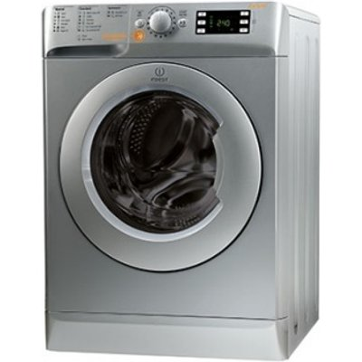 Indesit XWDE861480XS washer dryers  in Silver - 8050147016398