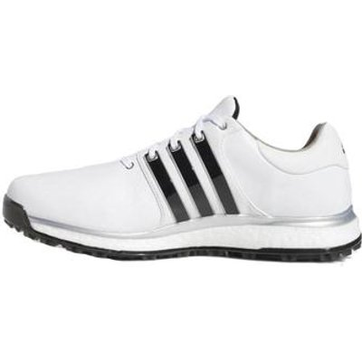 Adidas Tour 360 XT-SL Golf Shoes - White/Black/Silver