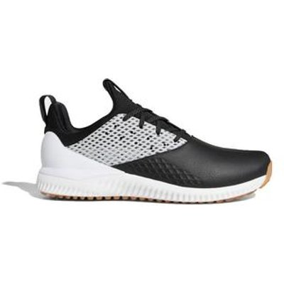 Adidas Adicross Bounce 2.0 Golf Shoes - Black/Dark Silver