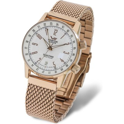 Vostok Europe Gents Gaz-14 Limousine Automatic 2426 Watch with Stainless Steel Milanese Bracelet Str