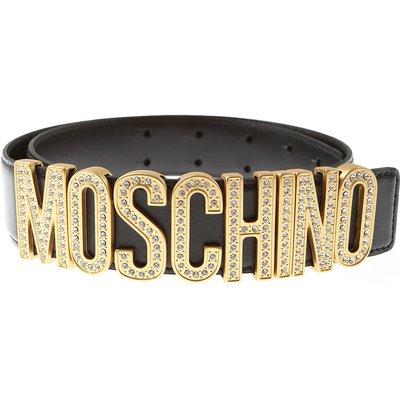 Moschino Damengürtel, Schwarz, Leder | MOSCHINO SALE