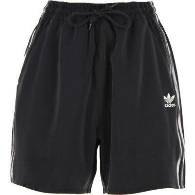 Adidas Damenbekleidung, Schwarz, Polyester