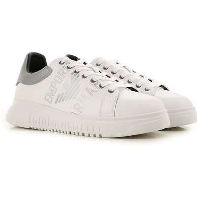 Emporio Armani Sneaker  Tennisschuh, Turnschuh, Weiss