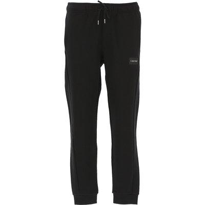 CALVIN KLEIN Calvin Klein Jogginghose Günstig im Sale, Schwarz, Baumwolle, 2017, L M S XL