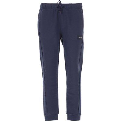 CALVIN KLEIN Calvin Klein Jogginghose Günstig im Sale, Blau, Baumwolle, 2017, L M S XL