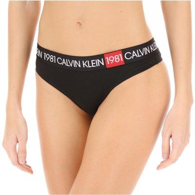 Calvin Klein Unterwäsche, Schwarz, Baumwolle