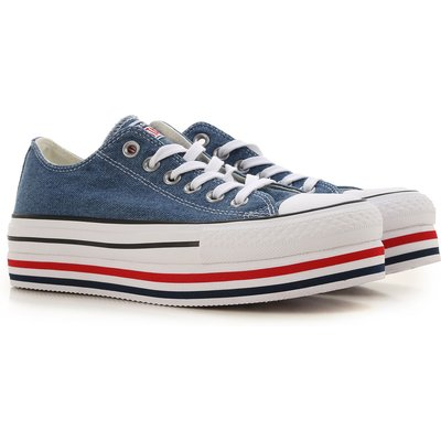 Converse Sneaker  Tennisschuh, Turnschuh, Denim- Blau