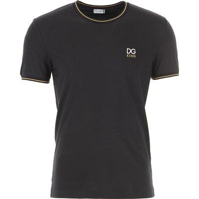 Dolce & Gabbana T-Shirts  T'Shirts, Schwarz, Baumwolle
