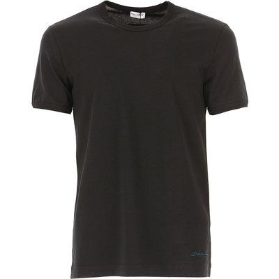 Dolce & Gabbana T-Shirts für Herren, T'Shirts Günstig im Outlet Sale, Schwarz, Baumwolle, 2017, M S