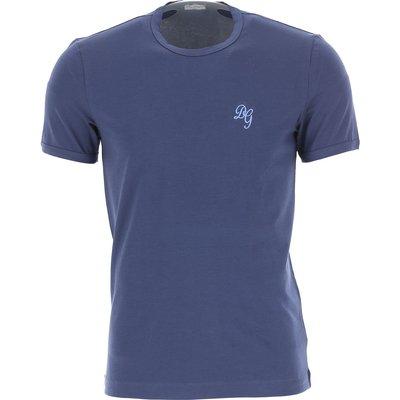 Dolce & Gabbana T-Shirts  T'Shirts Günstig im Outlet Sale, Dunkelblau, Baumwolle