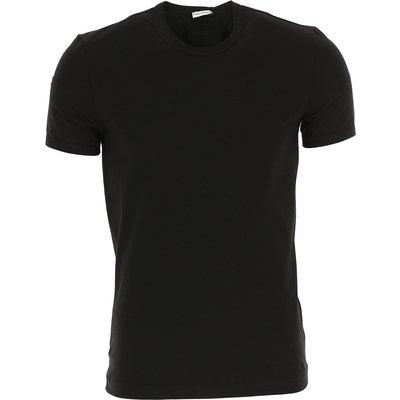 Dolce & Gabbana T-Shirts für Herren, T'Shirts Günstig im Outlet Sale, Schwarz, Baumwolle, 2017, L M S XL
