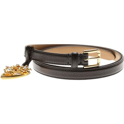 DOLCE & GABBANA Dolce & Gabbana Accessoires für Damen Günstig im Outlet Sale, Schwarz, Leder, 2017, EU 85 cm • US/UK 34 in EU 90 cm • US/UK 36 in EU 95 cm • US/UK 38 in EU 100 cm • US/UK 40 in
