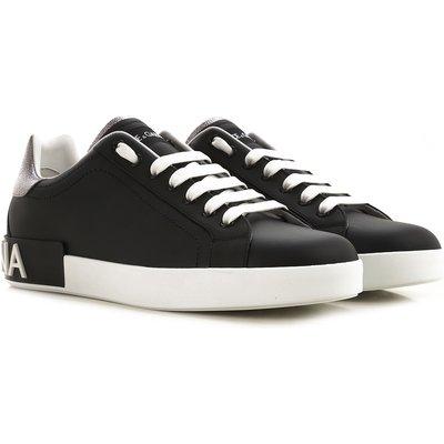 Dolce & Gabbana Sneaker  Tennisschuh, Turnschuh, Schwarz