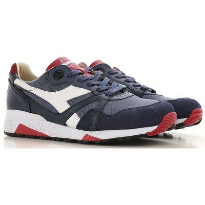 DIADORA Diadora Sneaker für Herren, Tennisschuh, Turnschuh Günstig im Sale, Vintage Indigo, Gewebe, 2017, 40 40.5 41 42.5 43