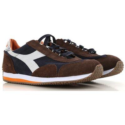 DIADORA Diadora Sneaker für Herren, Tennisschuh, Turnschuh Günstig im Sale, Marineblau, Wildleder, 2017, 40 41 43 44.5
