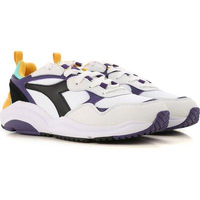 DIADORA Diadora Sneaker für Herren, Tennisschuh, Turnschuh Günstig im Sale, Weiss, Nylon, 2017, 40 41 43 44.5