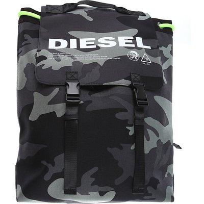 Diesel Rucksack Günstig im Outlet Sale, Gewehr Metall, Polyamid   DIESEL SALE