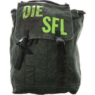 Diesel Rucksack, Schwarz, Baumwolle   DIESEL SALE