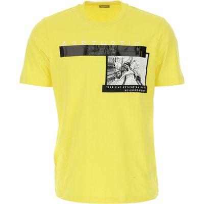 DIESEL Diesel T-Shirts für Herren, T'Shirts Günstig im Sale, Gelb, Baumwolle, 2017, M XL