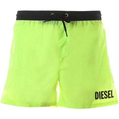 Diesel Bademode Günstig im Outlet Sale, Knallgelb, Polyester