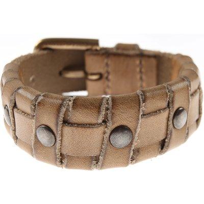 Dolce & Gabbana Armband Günstig im Outlet Sale, Sand, Leder