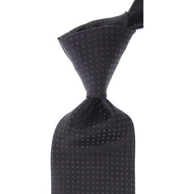 Dolce & Gabbana Krawatten, Schwarz, Seide