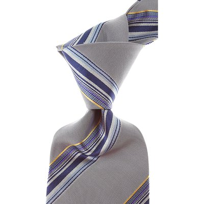 Dolce & Gabbana Krawatten, Grau, Seide