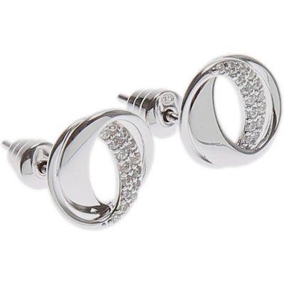 EMPORIO ARMANI Emporio Armani Ohrring für Damen Günstig im Sale, Silber, Sterling Silver, 2017